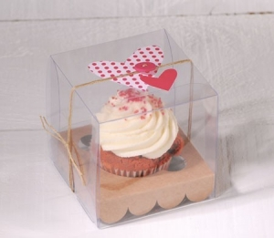 Cupcake box for wedding