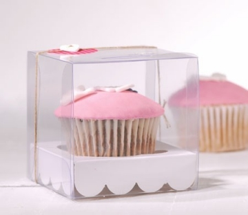 Scatola per una cupcake da comunione