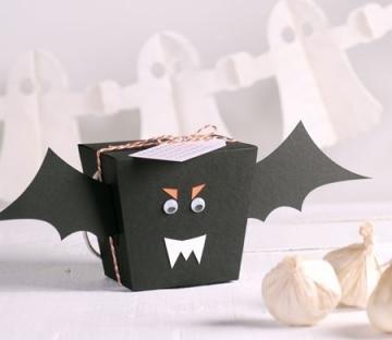 Originale scatola di Halloween