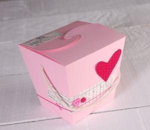 Caja de regalo fideos chinos