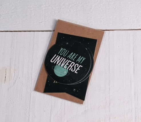 """Pegatinas para regalos """"Universo"""""""
