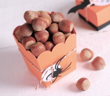 Popcorn box for Halloween parties