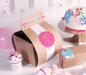 Caja original para tartas y pasteles