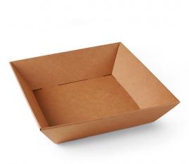 Quadratische Kartonschale