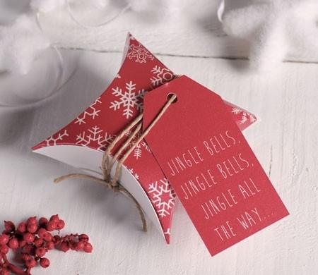 Caja regalo para la Navidad