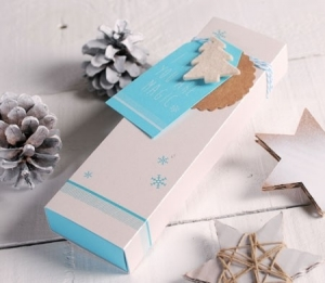 Scatola stampata per Natale