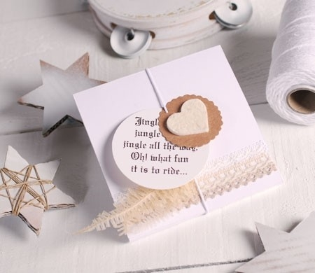 Caja regalo plana para pañuelos