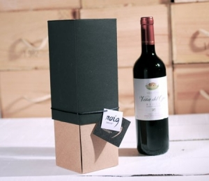 Originale scatola regalo per bottiglie