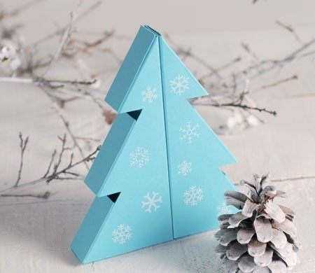 Christmas treeshaped gift box  SelfPackaging