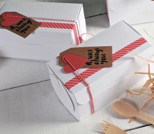 Caja regalo detalle para San Valentín