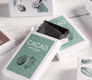 Scatola stampata per cioccolato