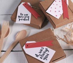 Sencilla caja regalo para San Valentín