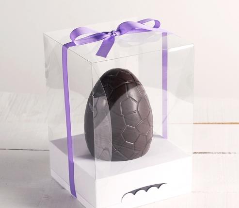 Scatola con nastro per le uova di Pasqua