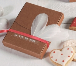 Decorated box for Polaroids