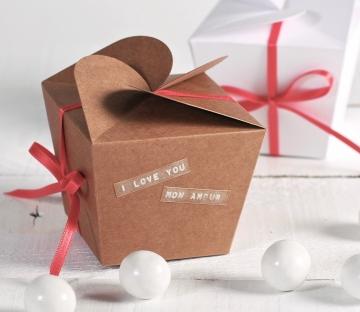 Cajita regalo para San Valentín