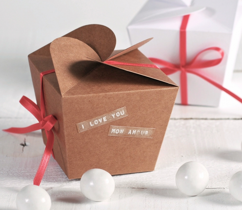 cajita regalo para san valentn - Valentines Gift Boxes