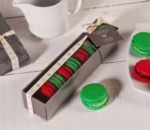 Rectangular box for macarons