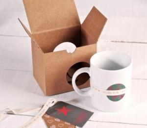 Dekorierte Tassenverpackung
