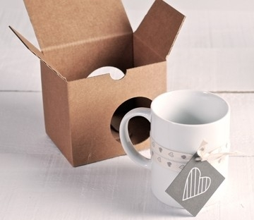 Boxes to give mugs as a present