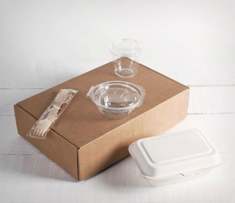 Kit de caja de comida para llevar