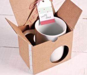 Tassenverpackung mit Washi Tape