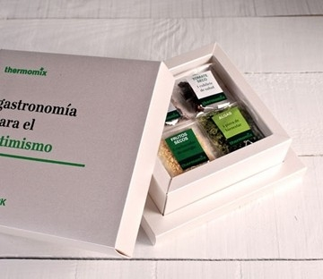 Personalised box for business gifts