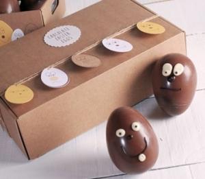 Caja automontable para Pascua