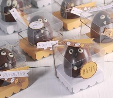 Transparente Schachtel für Ostereier