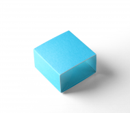 Single macaron box