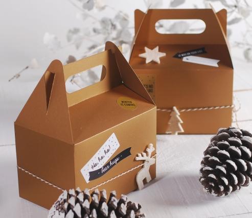 Picnic box for Christmas gifts