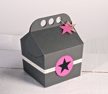 Happy Box For Presents Selfpackaging