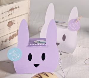 Cajita en forma de conejo