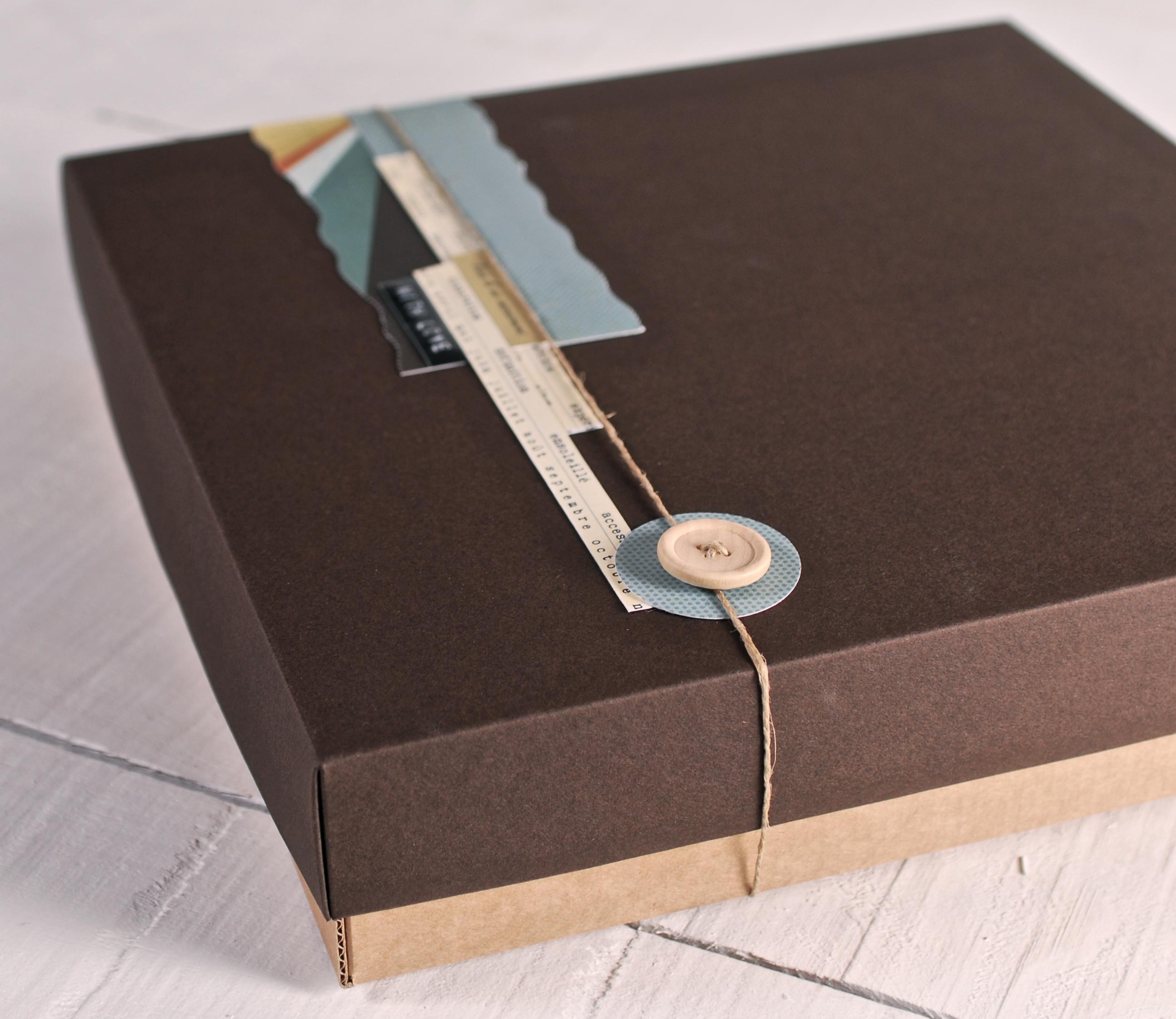Cajas Para Lbumes De Fotos ~ Cajas De Carton Decorativas Grandes
