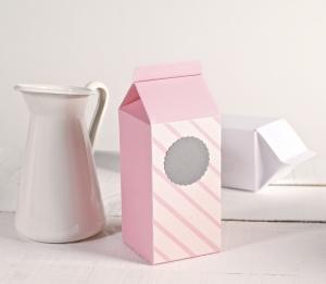 Decorated carton box