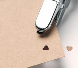 Perforadora Manual Corazón