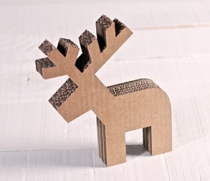 Little Cardboard Reindeer
