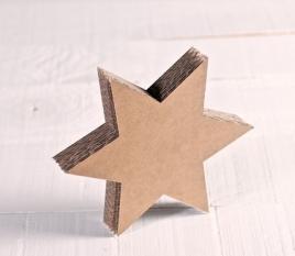 Piccola stella in cartone