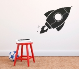 Adesivi Missile per bambini