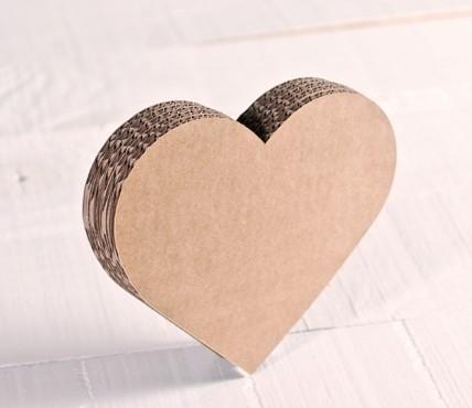 Small Cardboard Heart