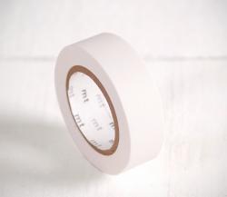 Washi tape blanco mate