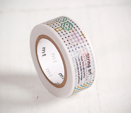 Washi tape with child print
