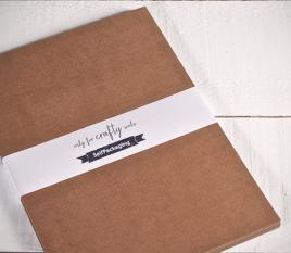 Kraftpapier-Karten A3