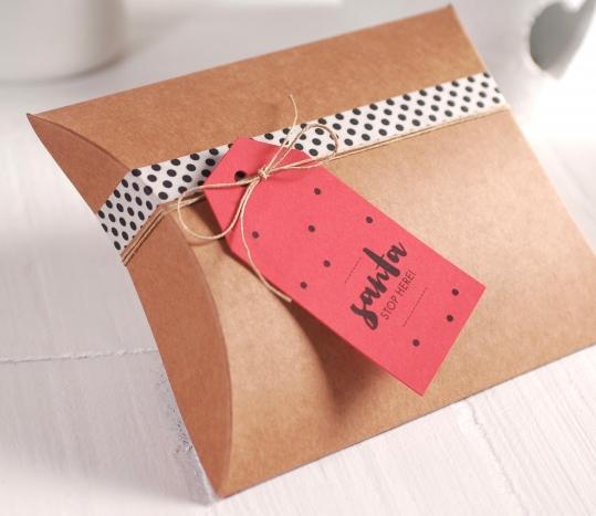 Caja regalo para Navidad