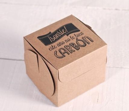 Caja regalo Navidad impresa. Edición Limitada