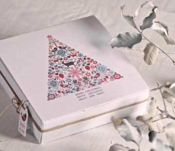 Cajas impresas para eventos en Navidad