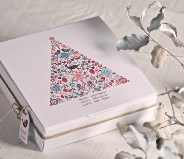 Printed boxes for Christmas events