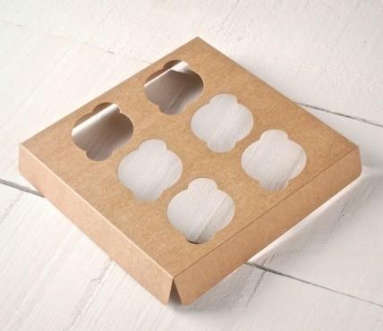 Holder 6 Mini Cupcakes