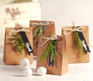 Bolsita para regalos decorada