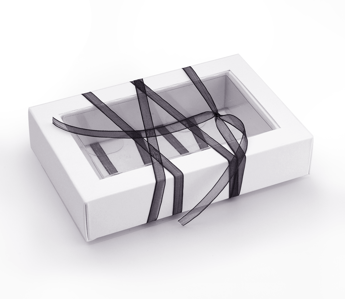 Caja de Plástico Transparente para Bombones