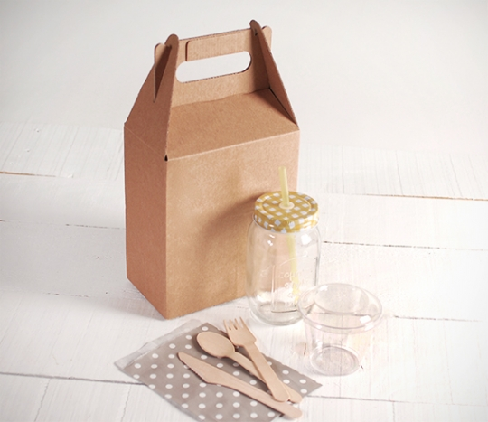 Kit envases Take Away pequeño
